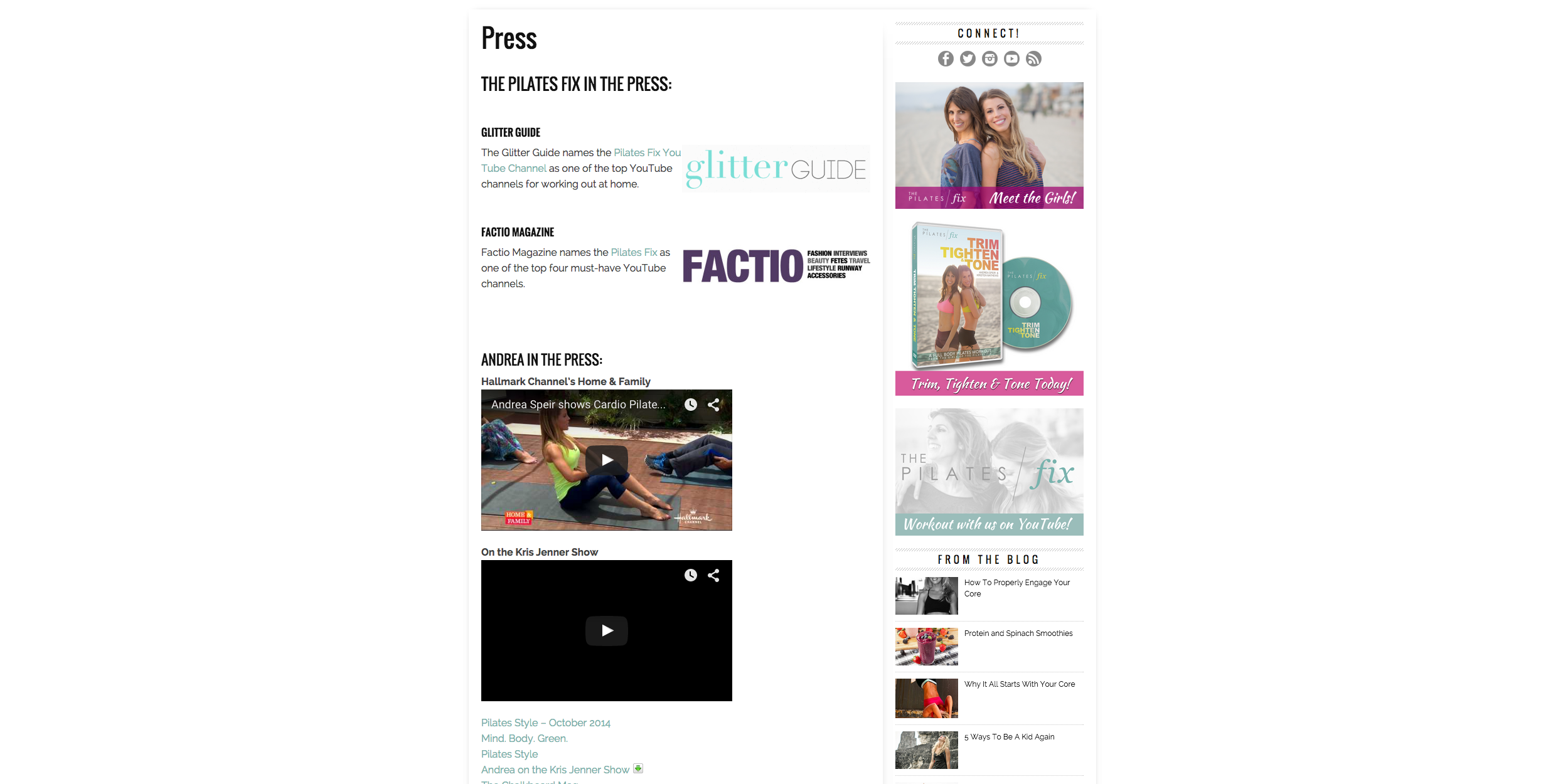 Pilates Fix – 3